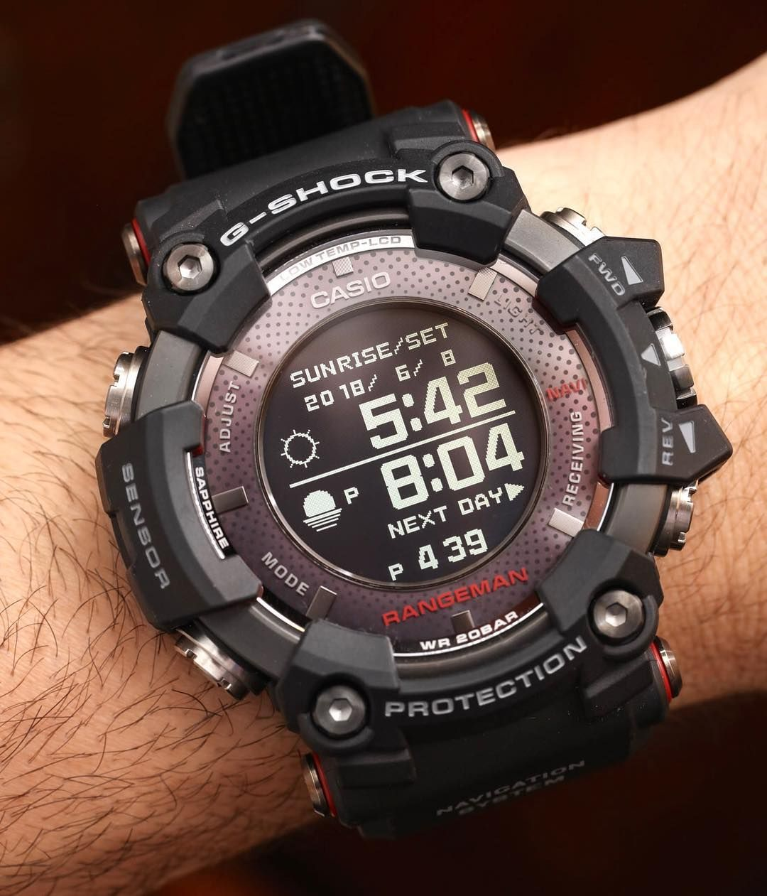 d3865168791e45 It's the biggest, baddest, and most capable G-Shock we've ever worn, and  today, Ariel shares his thoughts on the new solar-powered #GPRB1000  #Rangeman on ...
