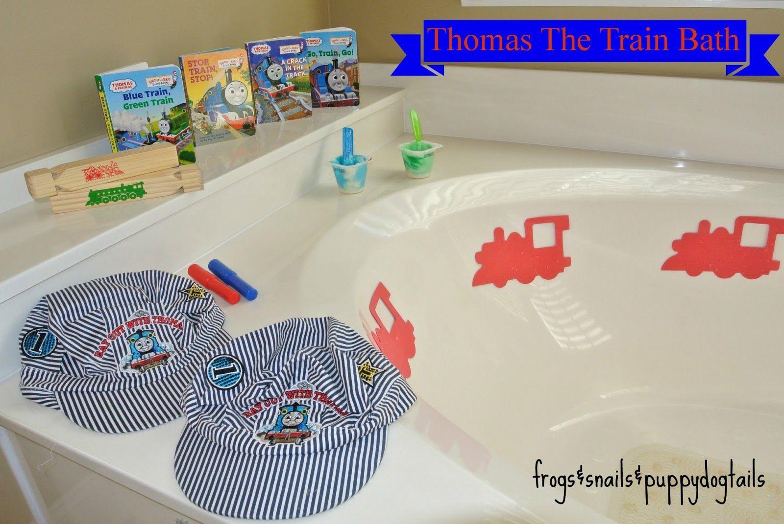 Thomas The Train Bath Preschooler And Toddler Activity