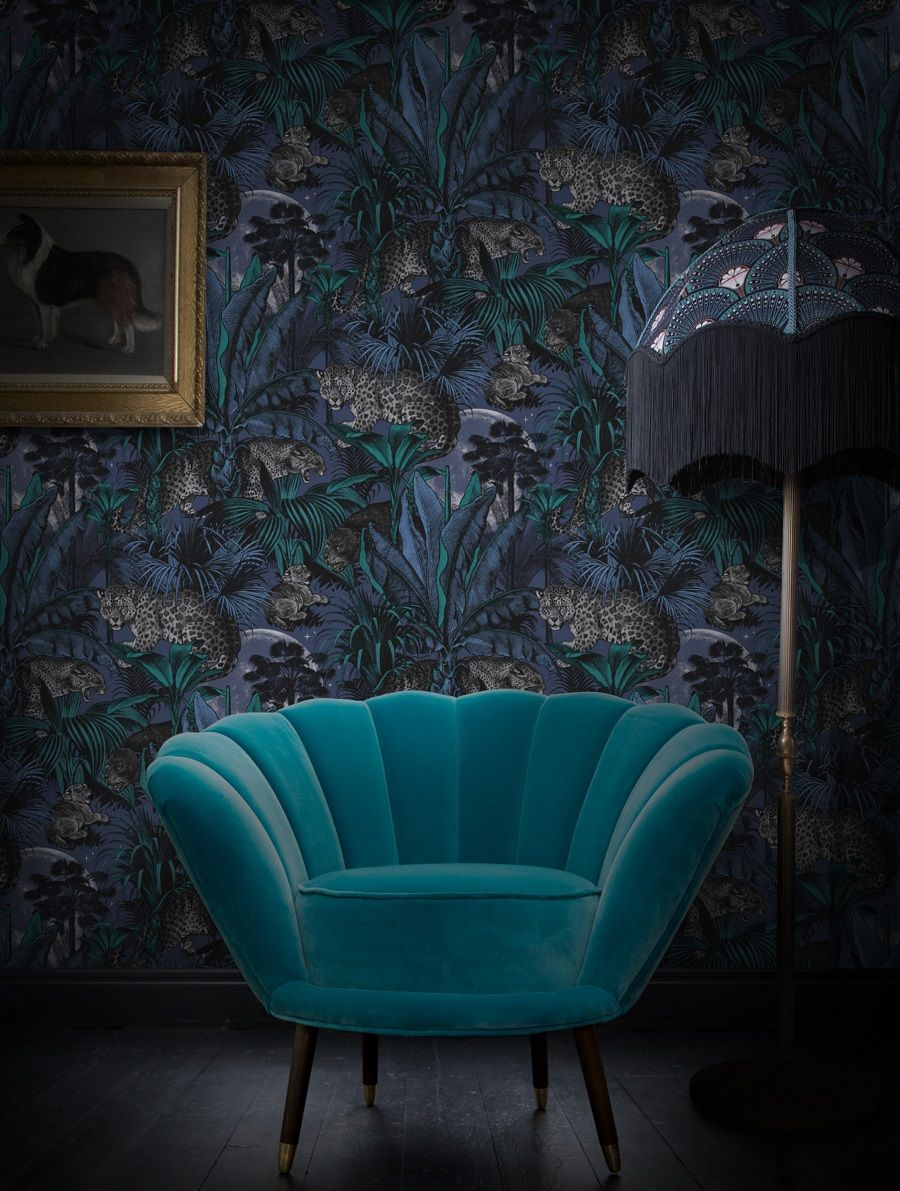 Introducing Divine Savages And Their Ultra Glamorous Wallpaper Dear Designer Interior Deco Interior Design Traditional Interior Design