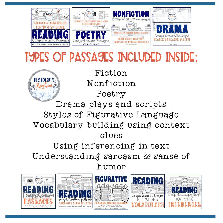 8 Academic Reading Comprehension Worksheets For 3rd Grade