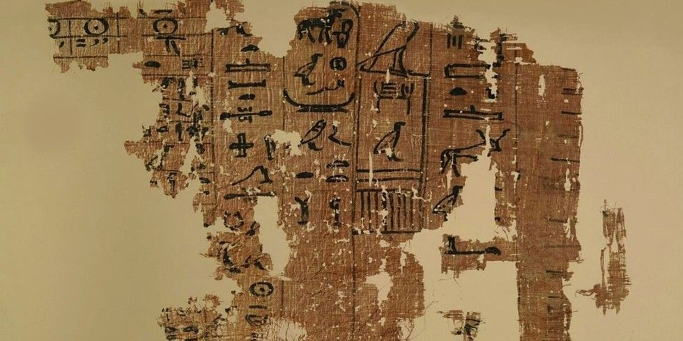 Authorities unveiled 30 papyri which contain the oldest