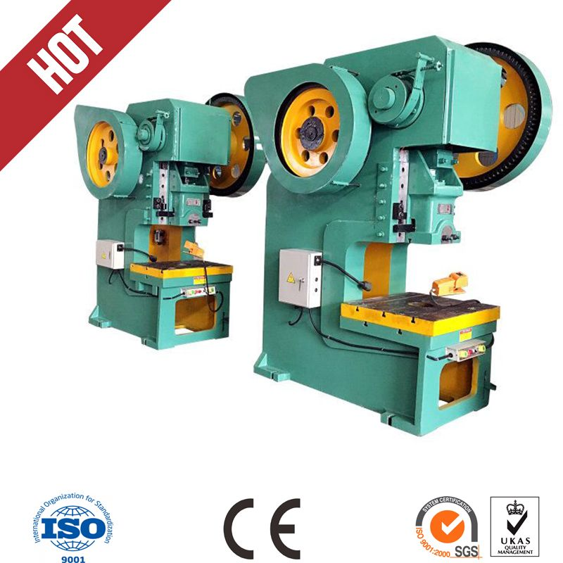 10 Ton J23 Mechanical Power Press Punch Press Machine For Aluminum Punching Machine Hydraulic Press Machine Mechanical Power Press Machine