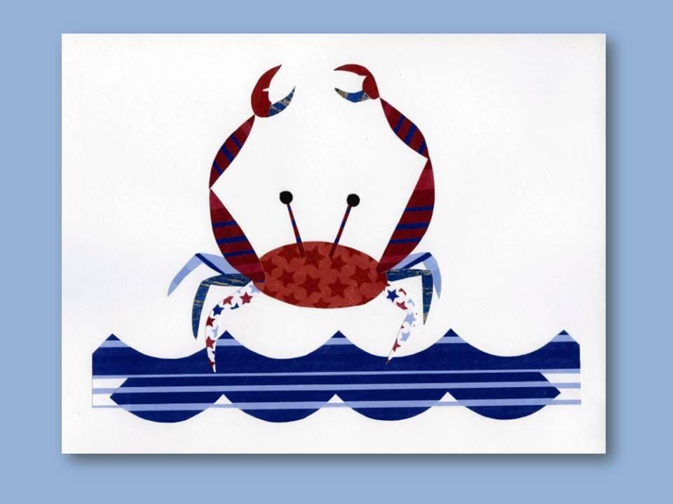 Baby Boy Nursery Nautical Print Red White Blue Crab Childrens Room  sc 1 st  Pinterest & Baby Boy Nursery Nautical Print Red White Blue Crab Childrens ...