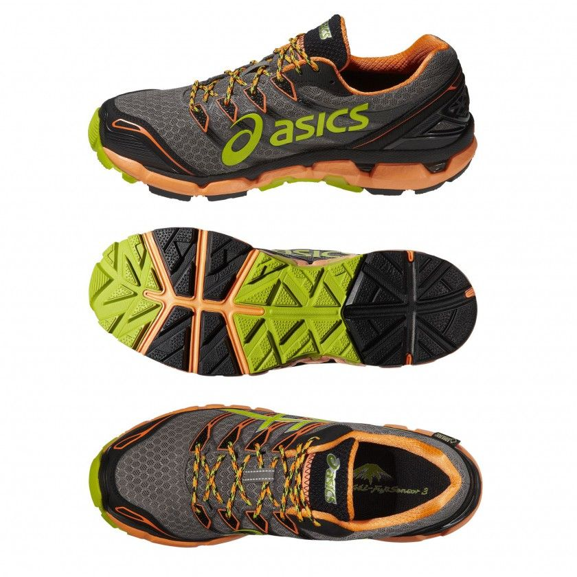 GEL-FUJISENSOR 3 GTX Trailrunningschuh Men inside, sole, top 2014 von ASICS