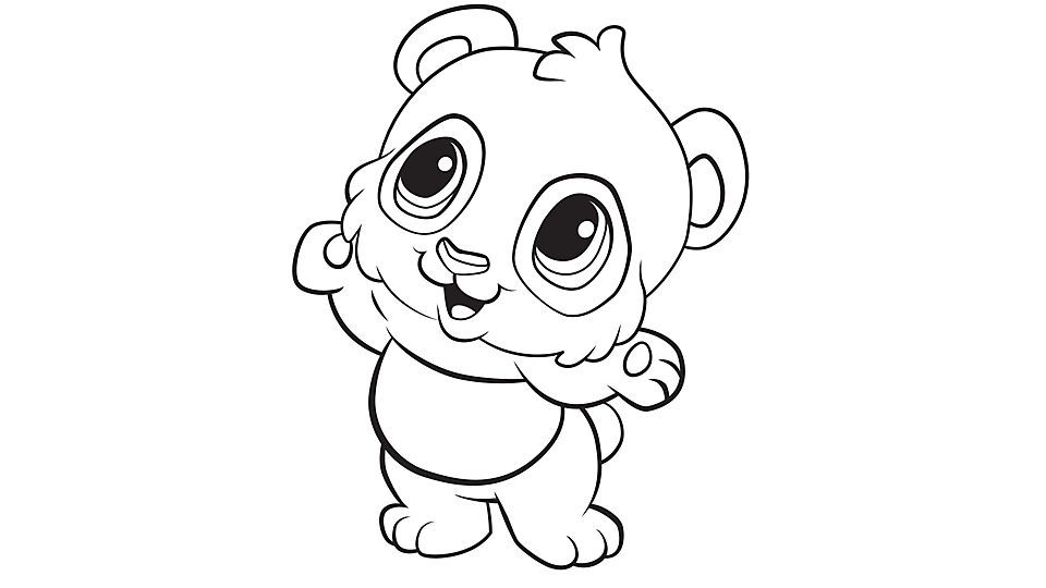 Learning Friends Panda Coloring Printable Panda Coloring Pages