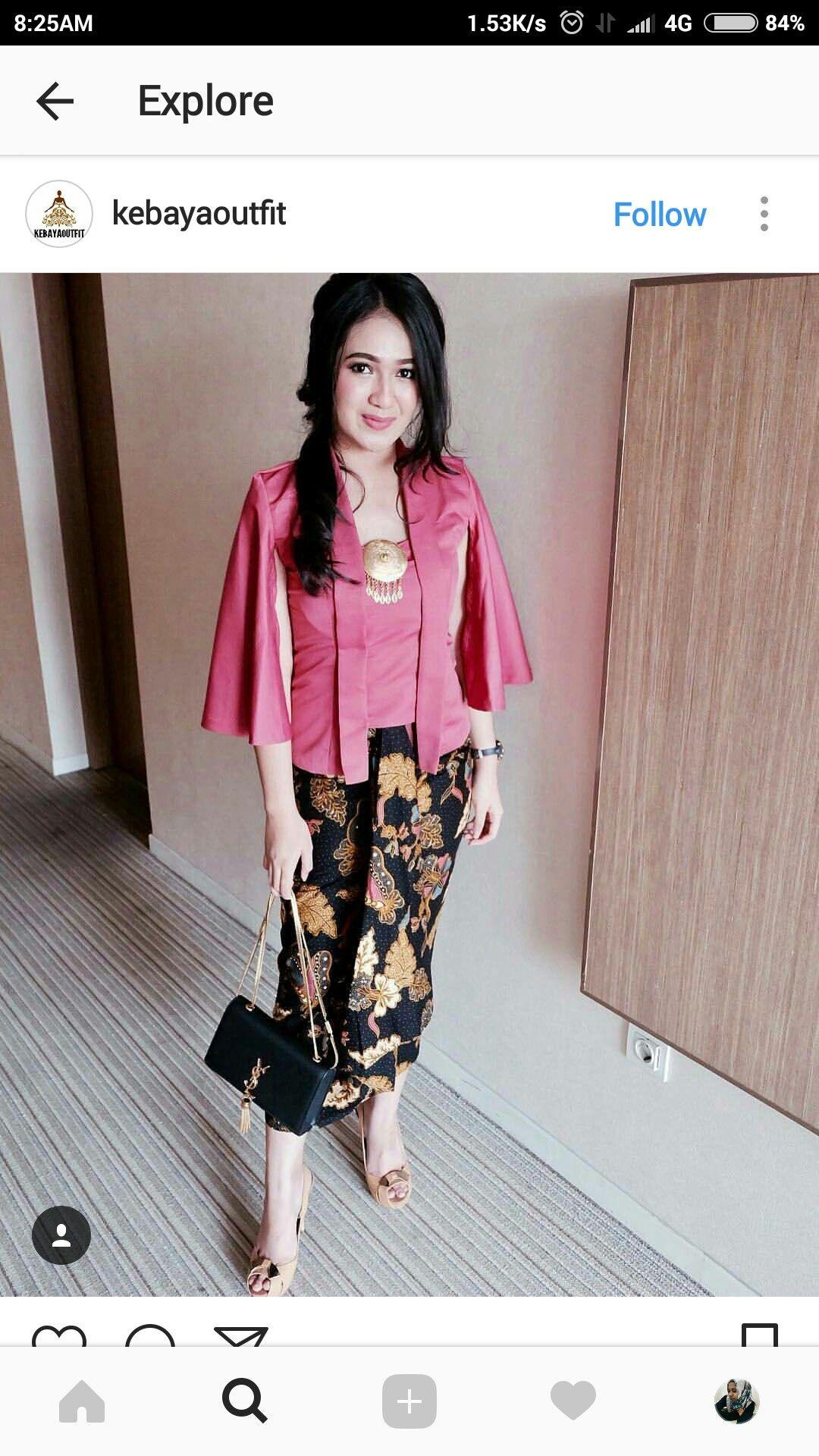 Kebaya Brokat Indonéská Kebaya Baju Kurung Abáje Sukně