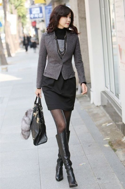 83+ Fall \u0026 Winter Office Outfit Ideas for Business Ladies 2018 , What  should you wear to office in the fall and winter seasons? Because the  weather starts