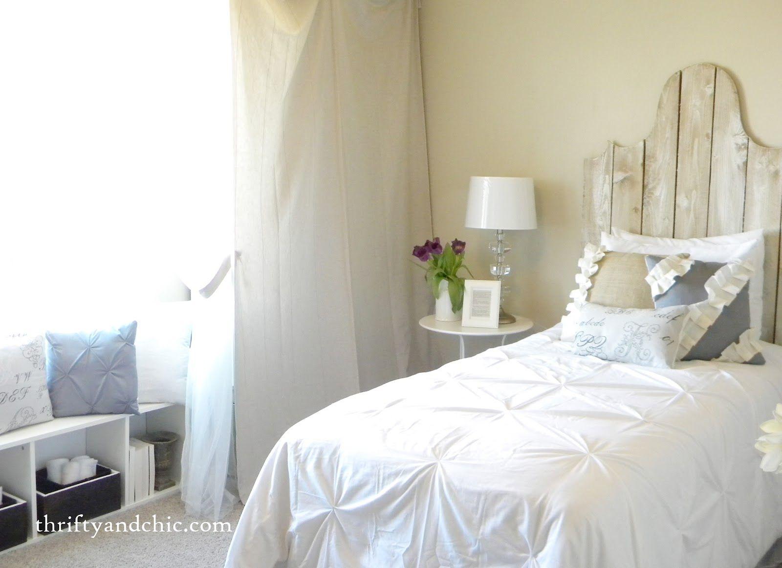 Testiera letto fai da te shabby cerca con google letti pinterest room - Testiera letto fai da te cuscini ...