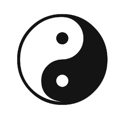 Afbeeldingsresultaat voor ying yang tumblr | stickers | Pinterest ...