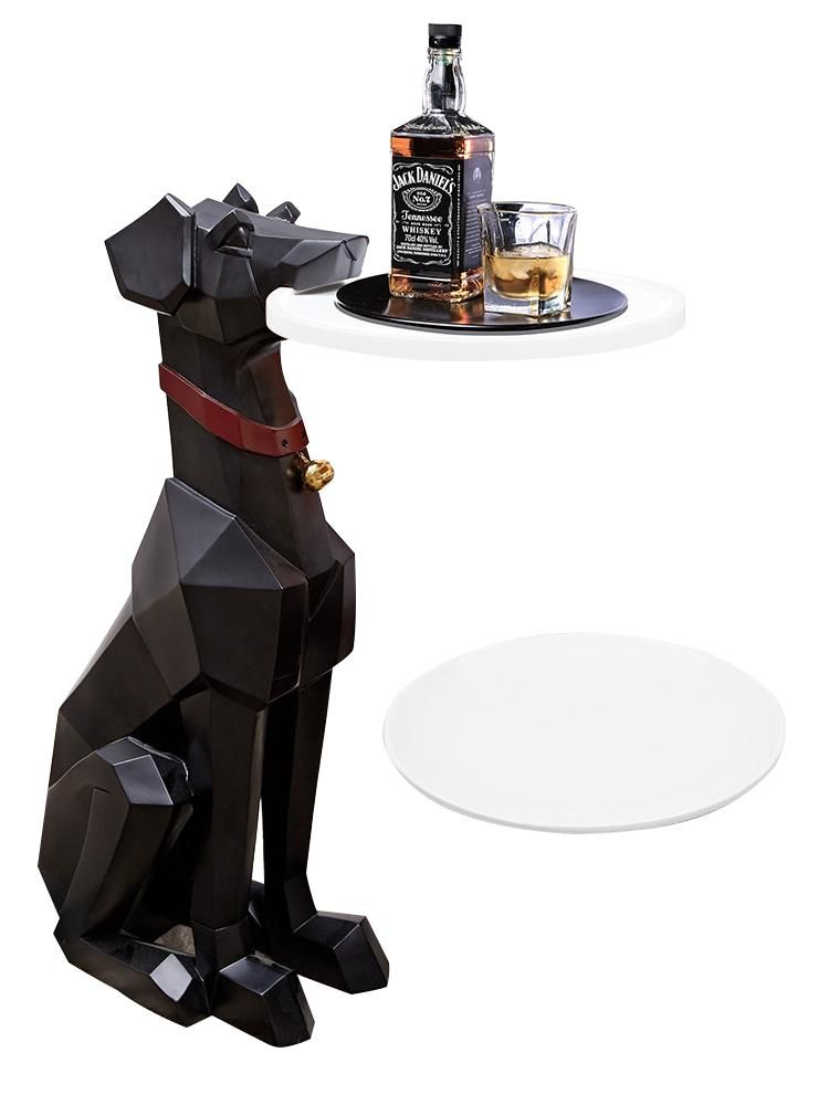 Https Buscoax Com Products Nordic Style Doberman Living Room Floor Decoration Tray Living Room Flooring Room Flooring Nordic Style