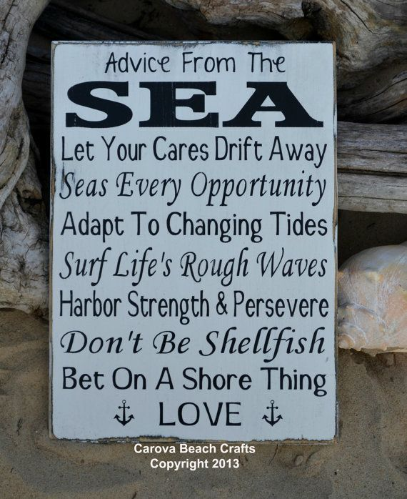 Beach Sign Decor Adorable Beach Decor  Beach Sign  Beach Wedding Sign  Anchor  Wood Wall Inspiration Design