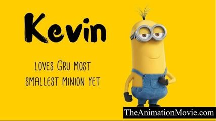 What are the names of despicable me minions characters ...