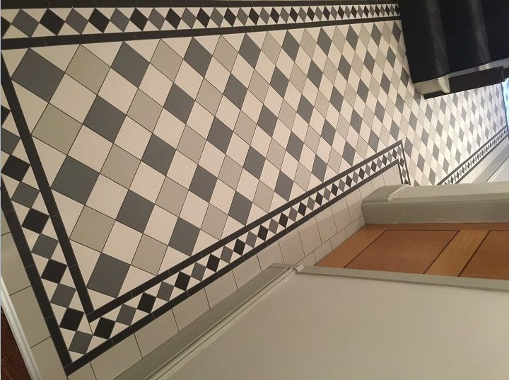 Alternative tiles specialist in victorian minton and for Victorian floors