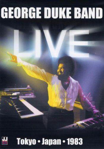 George Duke Band Live Tokyo Japan 1983 Dvd Music I Love