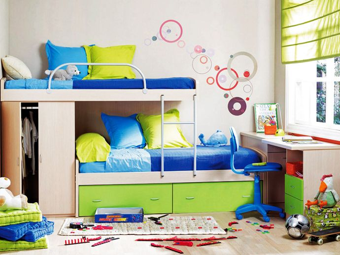Tips For Creating Rooms For 2 Or More Kids Bunk Bed Designs Kids Bedroom Childrens Bedrooms