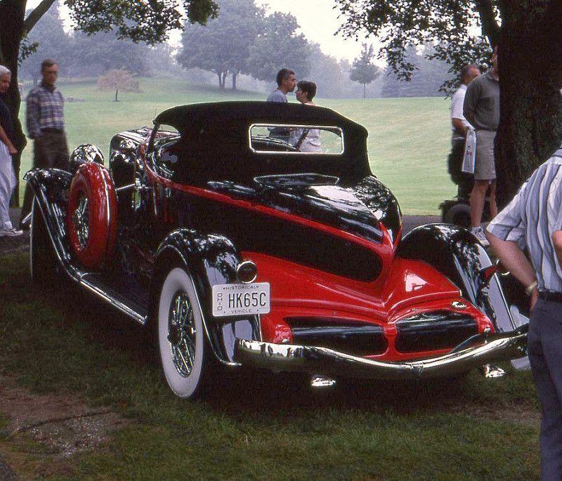 1933 Auburn 12 165 Salon Boat Tail Speedster Aston Martin Classic