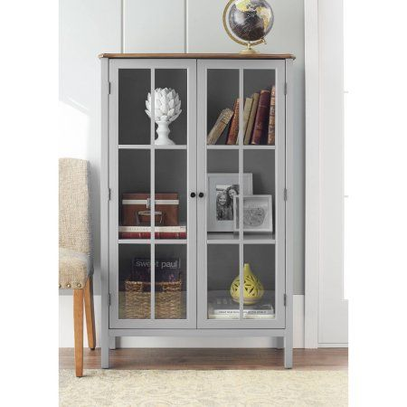 10 Spring Street Hinsdale Tall Cabinet Multiple Colors Walmart Com Storage Furniture Living Room Wall Display Cabinet Living Room Storage Cabinet