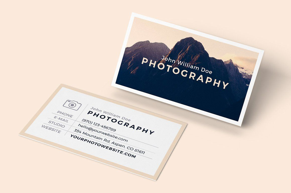 Business Card Bundle for InDesign by PhotoMarket on @creativemarket ...