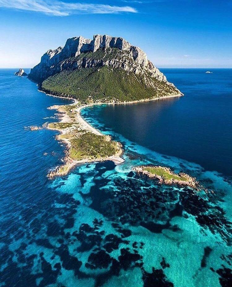 Isola di Tavolara (Ilha de Tavolara), Olbia, Itália