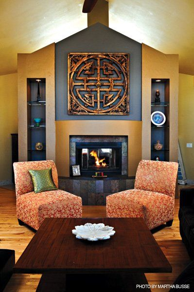 Oriental Chinese Interior Design Asian Inspired Living Room Home Decor  http://www.