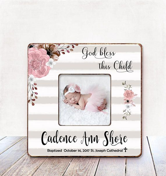 Godmother Frame Godmother Gift Godparent Gift Baptism Gift Godmother Goddaughter gift for Godmother Baptism Gift for Godparent Frame Baptism