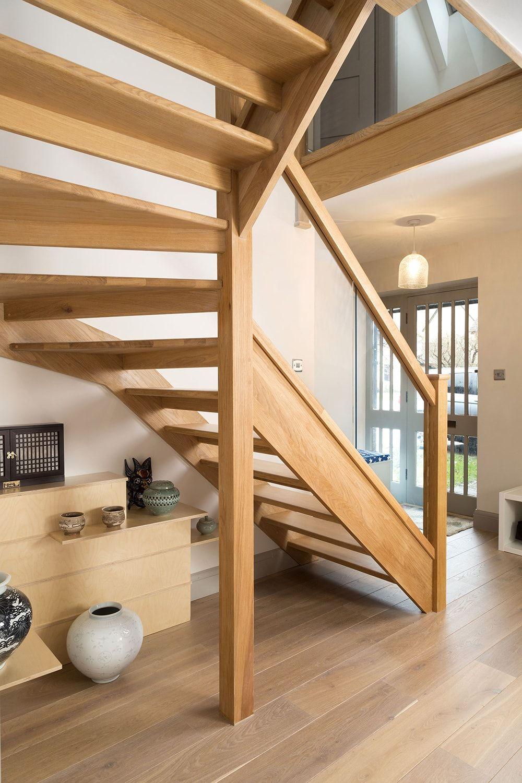Best Stairbox Stunning Open Plan Oak Staircase Bespoke 400 x 300