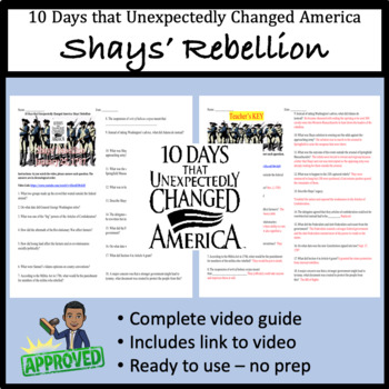 10 Days That Unexpectedly Changed America Shays Rebellion