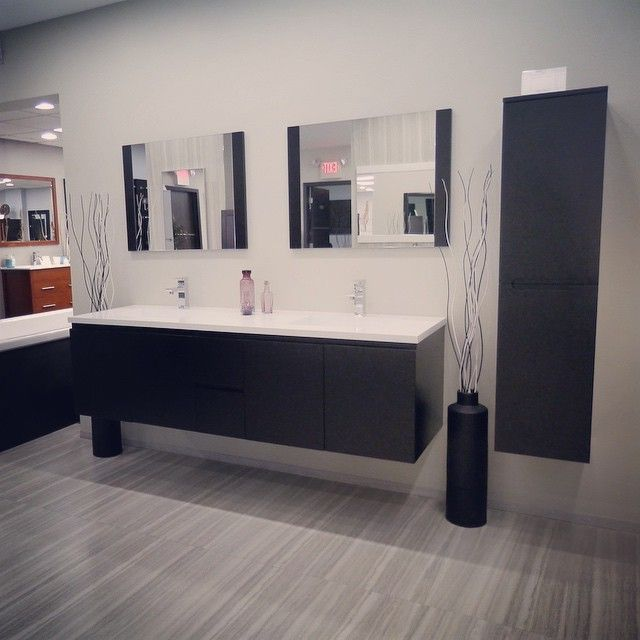 New Adams Display In Espresso At Our Hialeah Location Come Check - Bathroom vanities hialeah