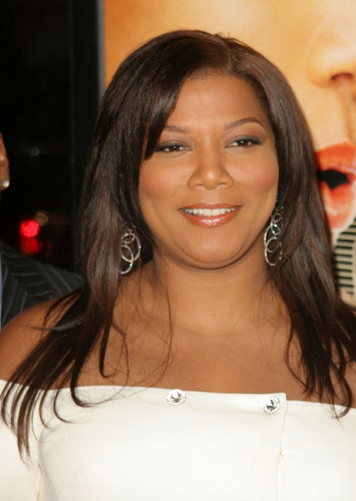 Queen Latifah Hairstyle With Layers And Side Bang Hairstyles