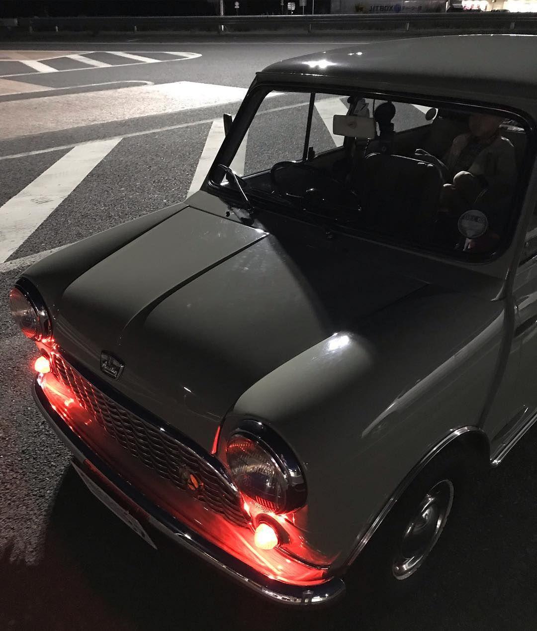 1965年式 austin mini mk1 ジャパンミニディー筑波へ向かいます 1965y austin mini mk1 i will go to tsukuba classic mini mini cooper sports car