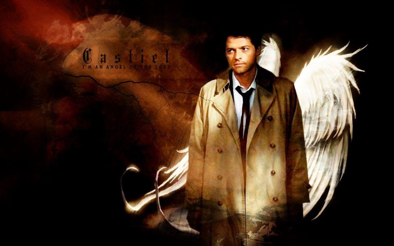 Supernatural Wallpaper Castiel Supernatural Wallpaper Supernatural Interview Castiel