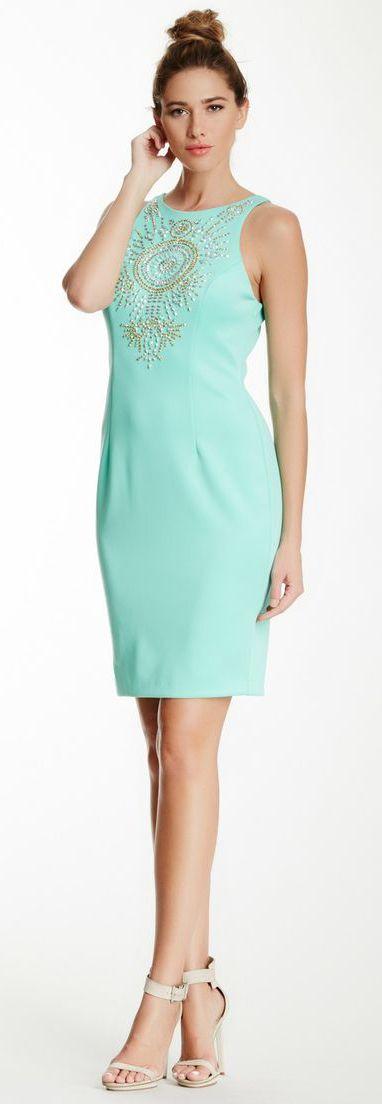 Embellished Sleeveless Dres