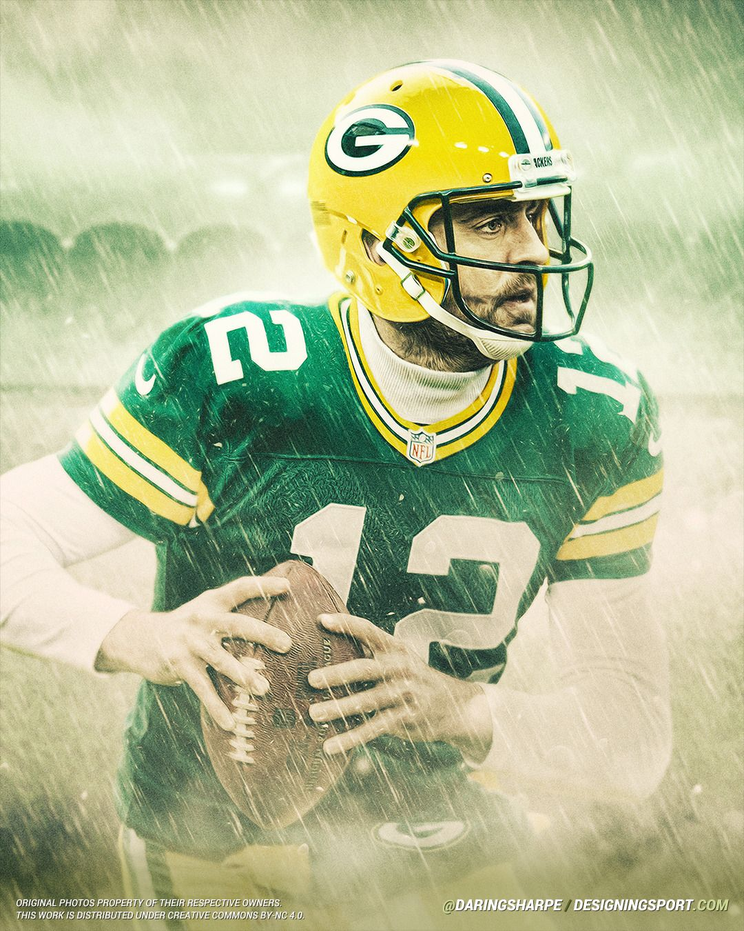 Aaron Rodgers Green Bay Packers Designing Sport Packers Packers Football Green Bay Packers