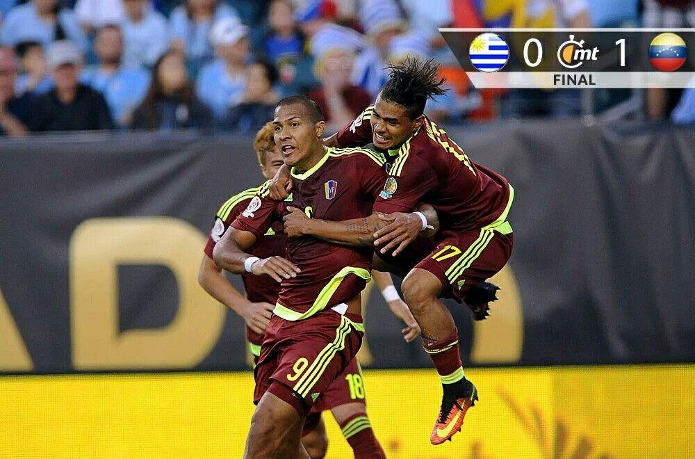 Venezuela 16 Gran sorpresa al eliminar a Uruguay en fase de grupos
