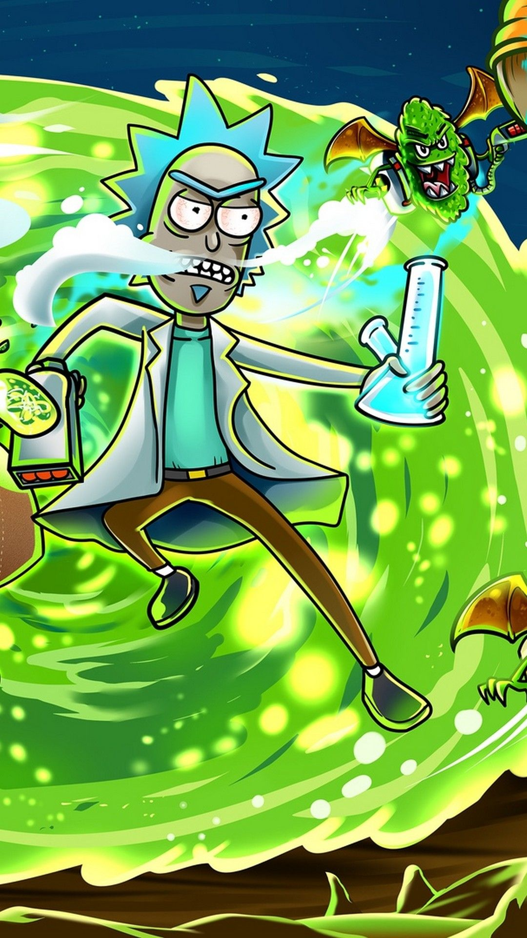 Mobile Wallpapers Rick And Morty 1080p Best Iphone Wallpaper Rick And Morty Wallpapers Morty Wallpaper Cartoon Wallpaper
