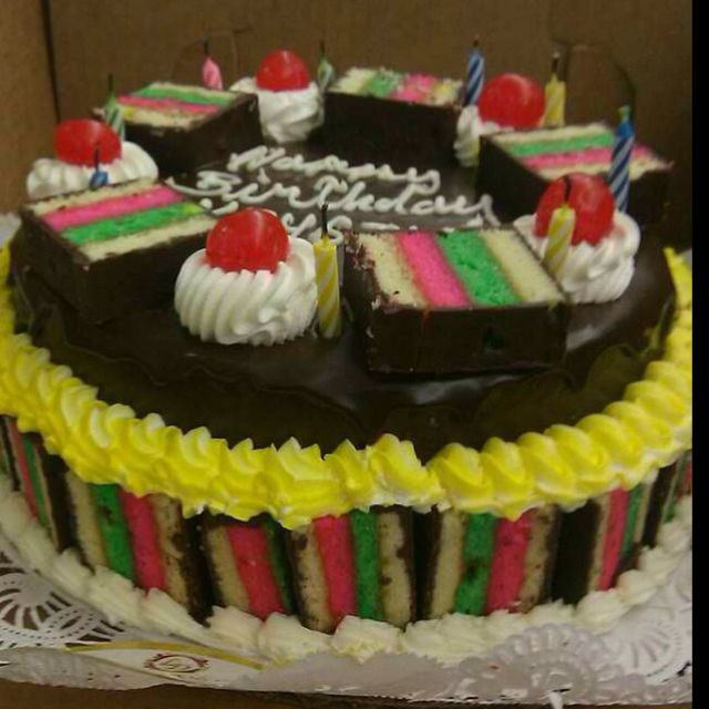 Italian Rainbow Cookie Cake The Best You Ll Ever Have In