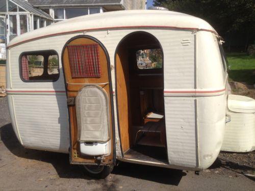 Details about very rare 1959 westfalia caravan 4 berth for Mobili westfalia