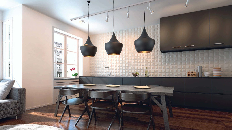 3D Textured Tiles | Kitchen interior, Kitchen wall tiles ...