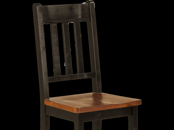 Rough Sawn Slatback Side Chair | Munros Furniture