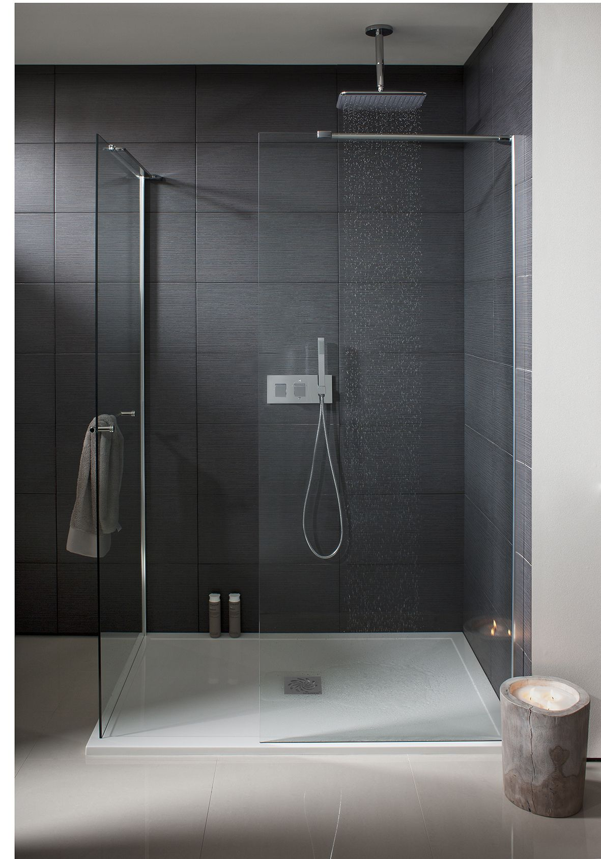 Design Walk In Bathroom Shower Panel With Towel Rail From Crosswater Http Www Simpsons Enclosure Bathroom Shower Panels Bathroom Shower Bathroom Shower Tile