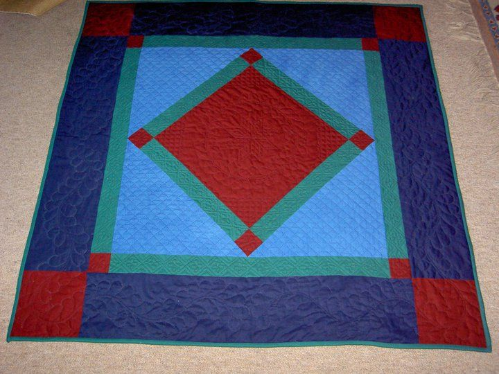 hand quilted Amish wallhanging | Quilts | Pinterest | Hand ... : amish hand quilting - Adamdwight.com