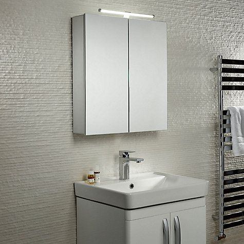 Roper Rhodes Conduct Illuminated Double Bathroom Cabinet Online At Johnlewis