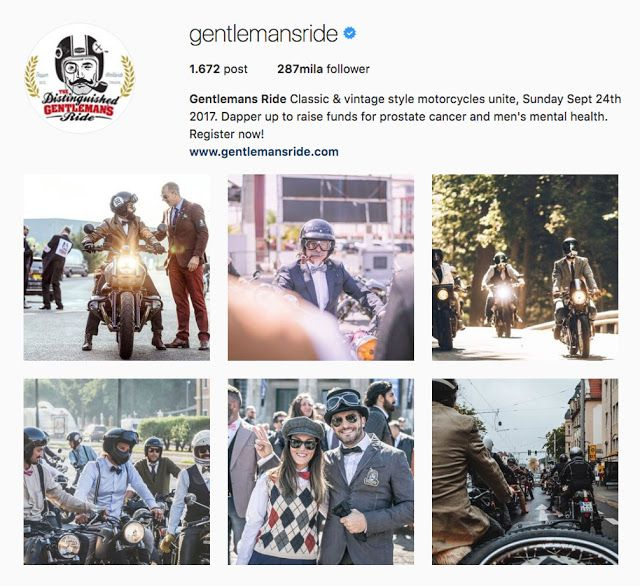 "My Influencers: Gentlemans Ride - Travel / Ride / Sport @gentlemansride This ""Gentlemansride"" Project has a Noble purpose and I advise you all to follow it and support it! Let's help them grow this Project! #fashion #adventure #ride #race #healthfoundation #style #ridestyle #myinfluencerblog"