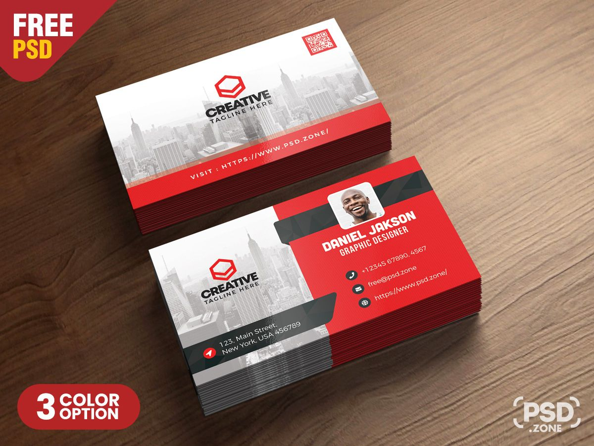 The Outstanding Corporate Business Card Psd Template Psd Zone In Calling Card Psd Template Image Business Card Size Corporate Business Card Business Card Psd