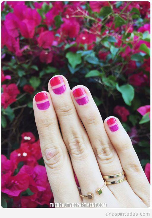 Diseño de uñas para primavera 2016 fácil, tutorial 2 | uñas ...