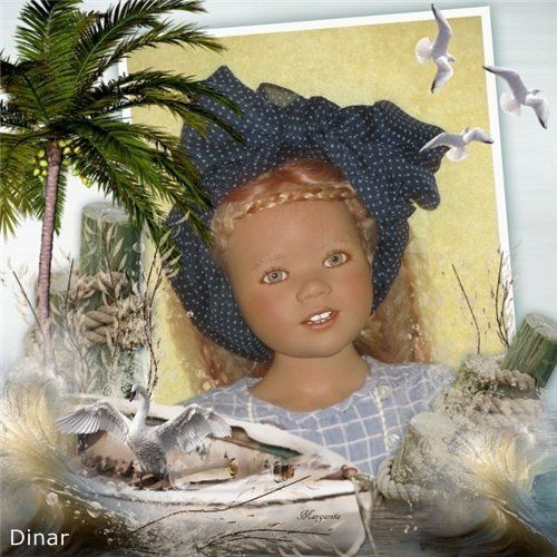 Со старым Новым годом! (Календарь с Химочками) / Коллекционные куклы Annette Himstedt / Бэйбики. Куклы фото. Одежда для кукол