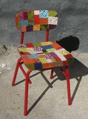 chaise d 39 colier customis e pour les enfants pinterest coli re chaises et pupitres. Black Bedroom Furniture Sets. Home Design Ideas