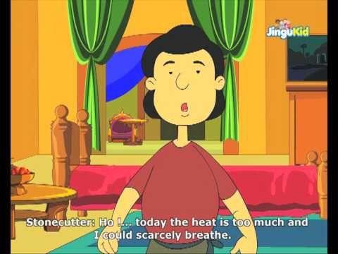 Fabulous Folk Tales - The Stone Cutter - Kids Animation Stories