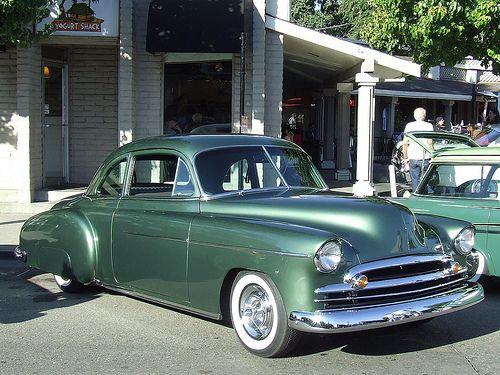 1950 chevrolet 2 door coupe 1949 54 chevy 39 s pinterest for 1950 chevy 2 door sedan