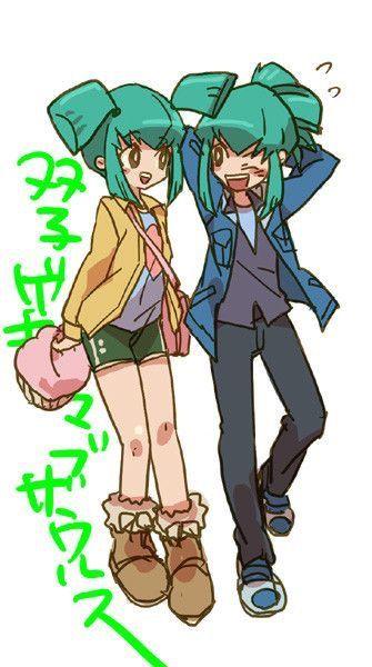 Luna and Leo ️ Yugioh 5ds | Leo, Yu gi oh 5d's, Anime